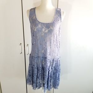 Free people lace dress size L